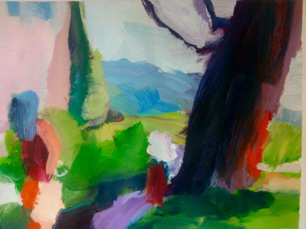 ohne Titel 60 x 80 cm Acryl auf Leinwand €1,200.00