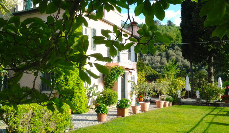 THE MAIN BUILDING OF OUR BOUTIQUE B&B RESORT NEAR THE ITALIAN RIVIERA